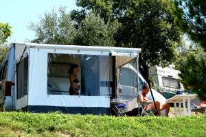 Campingplatz Zelena Laguna